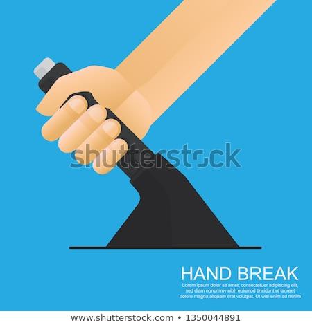 emergency hand brake stock photo © michaklootwijk
