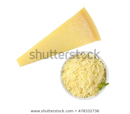 parmesan · peyniri · üç · taze · beyaz · gıda · peynir - stok fotoğraf © Digifoodstock