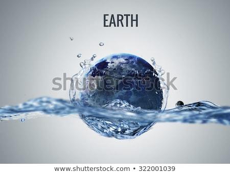 惑星 · 水 · サイエンスフィクション · 芸術 · 太陽系 · 要素 - ストックフォト © NASA_images