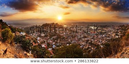パノラマ マダガスカル 短い 貧しい 市 ストックフォト © artush