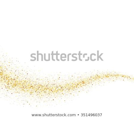 белый · золото · звезды · свет - Сток-фото © blackmoon979