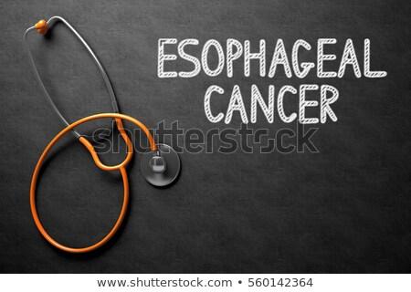próstata · câncer · quadro-negro · ilustração · 3d · médico - foto stock © tashatuvango