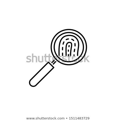 El dokunmak yasal hizmetleri anahtar iş Stok fotoğraf © tashatuvango