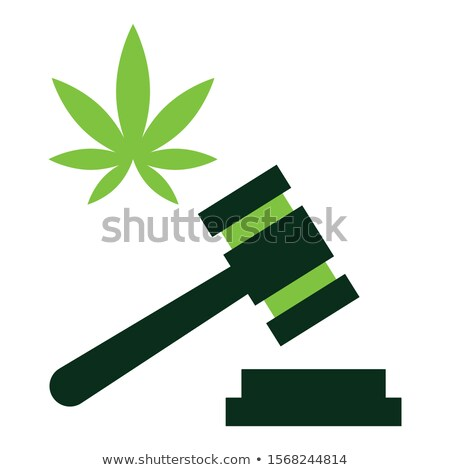 Hennep Canada recht marihuana groep bladeren Stockfoto © Lightsource