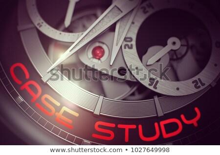 Best Practice on Luxury Pocket Watch Mechanism. 3D. Stock photo © tashatuvango