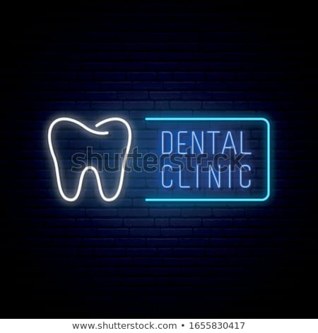 Dental clinic and Dentist. Medical banner. Health care. Vector medicine illustration. Stock photo © Leo_Edition