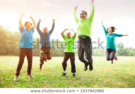 Healthy Senior Stock photo © FreeProd