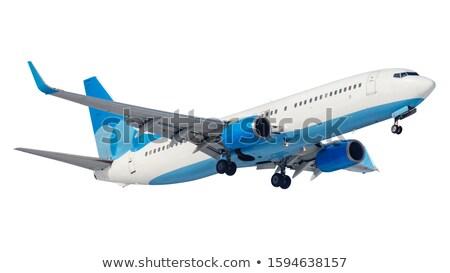 Jet piano battenti bianco illustrazione sfondo Foto d'archivio © bluering