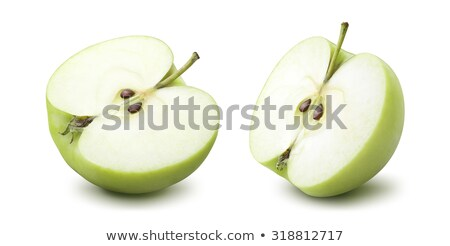 two and a half green apples stock photo © digifoodstock