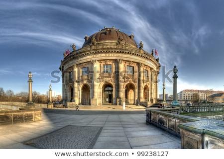 museo · isla · Berlín · amanecer · agua · edificios - foto stock © lunamarina