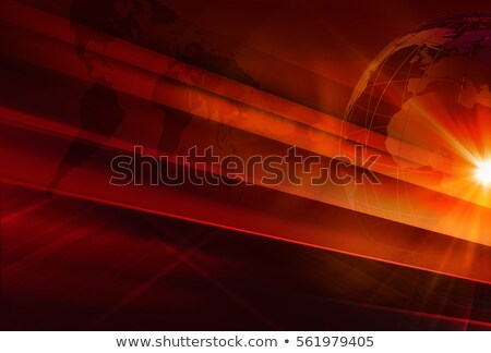 breaking news alert background in red theme stock photo © sarts