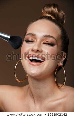 moda · retrato · topless · mulher - foto stock © deandrobot
