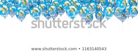 Ballons cadre pavillon Oklahoma États-Unis locale Photo stock © MikhailMishchenko