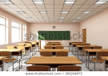 interior of class room stock photo © bluering