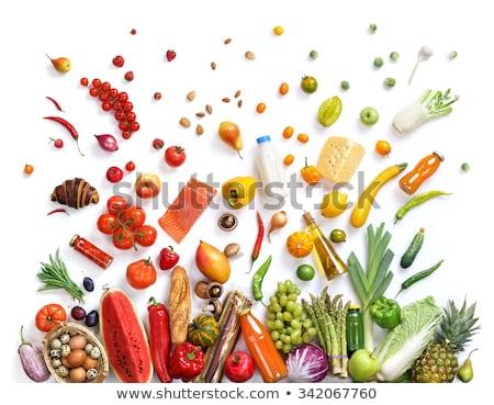 オーガニック フルーツ 食品 健康的な食事 実例 愛 ストックフォト © cienpies