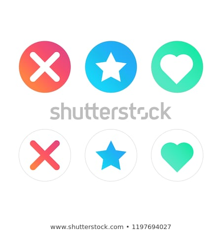 Icon popular social network for dating. stock photo © AisberG