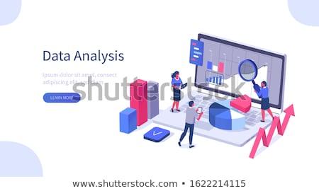 ilustração · infográficos · opções · apresentação · promoção - foto stock © robuart