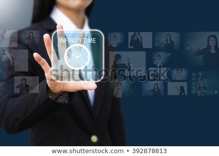Stopwatch tijd seconden web icon geïsoleerd sport Stockfoto © mizar_21984