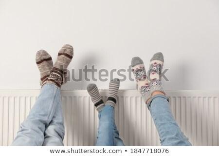 ısıtma beyaz grup enerji çelik sıcak Stok fotoğraf © magraphics