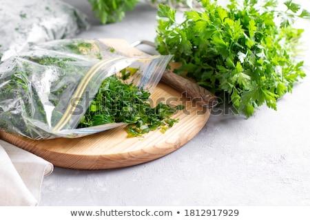 Congelato vegetali plastica bag set verdura Foto d'archivio © AndreyPopov