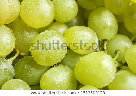 white grapes closeup Stock photo © prill