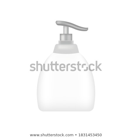 Plastic Atomizer Bottle Pulverization Water Vector Stock photo © pikepicture