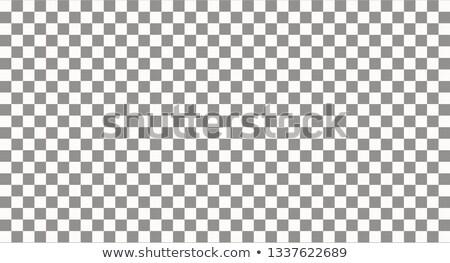checkered flag cloth on gray background stock photo © sarts