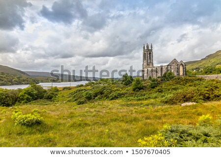 dramatic church ruins stock photo © grafvision