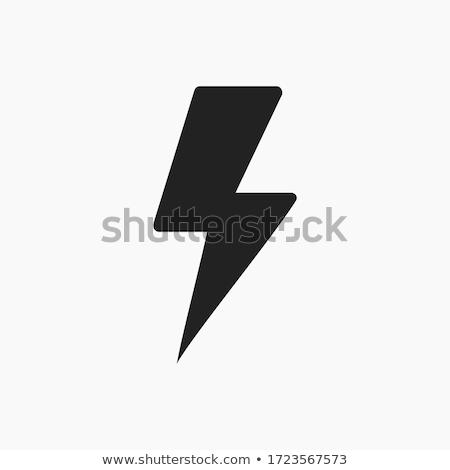 Electric symbols set of lighting  Stock photo © ukasz_hampel
