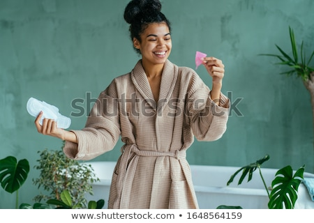 woman with sanitary pads Stock photo © adrenalina