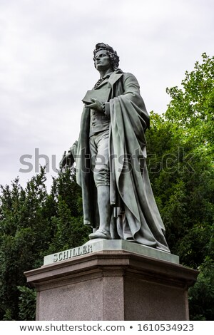 Франкфурт Германия статуя скульптуры туризма ориентир Сток-фото © manfredxy