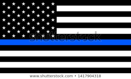 Law Enforcement Thin Blue Line Background Stock photo © enterlinedesign