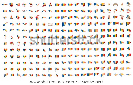very big collection of vector flags of the Chad Stock photo © butenkow