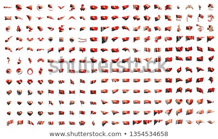 very big collection of vector flags of the Papua New Guinea Stock photo © butenkow