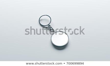 Metálico ilustração 3d isolado branco negócio Foto stock © montego
