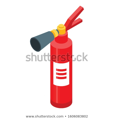Chemical Extinguisher isometric icon vector illustration Stock photo © pikepicture