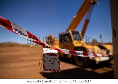 figyelmeztető · jel · helytelen · emel · munka · masszázs · jóga - stock fotó © bytedust