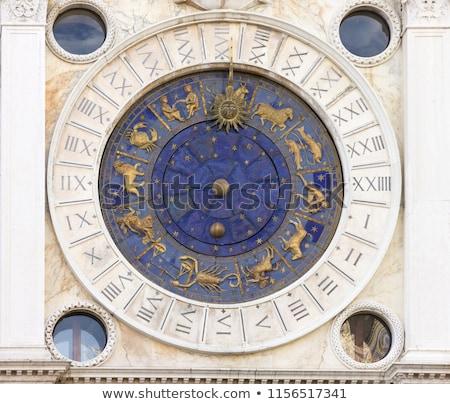 Италия Венеция часы башни квадратный признаков Сток-фото © gant