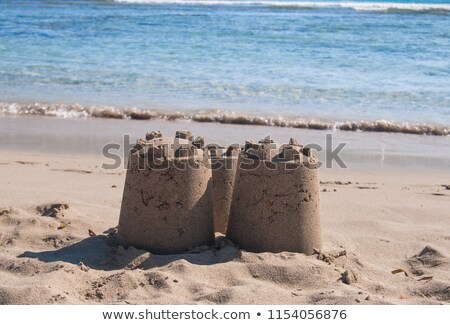 Precarious Sand Castle