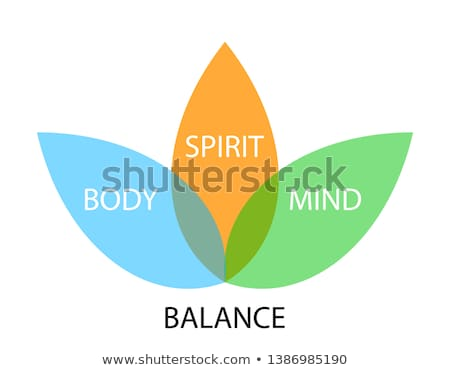 Body,mind and spirit concept Stock photo © bbbar