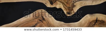 resin on wood stock photo © alvinge
