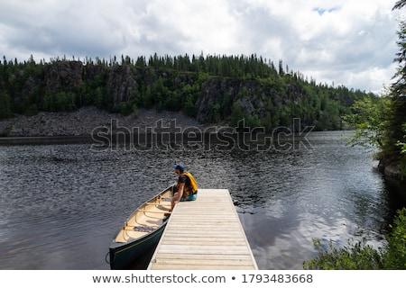 Wooden jetty Stock photo © CaptureLight