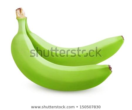 orgânico · verde · bananas · fruto · banana · fresco - foto stock © balefire9