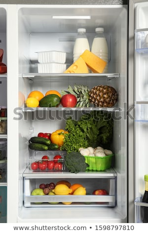 full fridge stock photo © glorcza