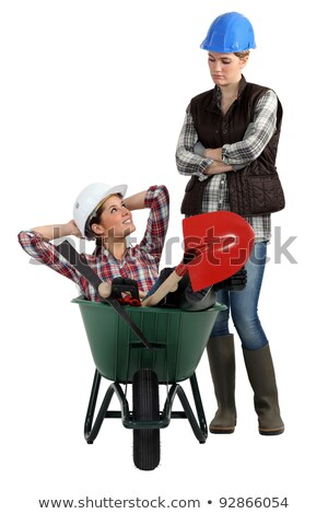 two craftswomen relaxing Stock photo © photography33