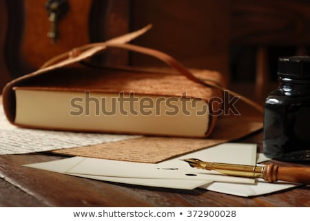 old handwritten books stock photo © prill