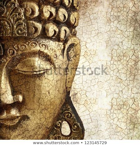 Buda · portre · dev · kafa · Tayland · ibadet - stok fotoğraf © bbbar