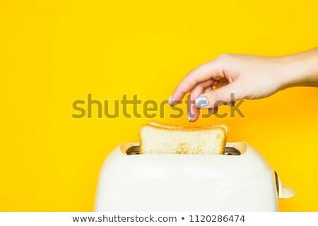 toast in a yellow toaster Stock photo © ozaiachin