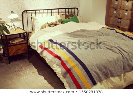 bedside lamp 01 Stock photo © LianeM