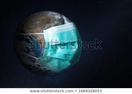 Toprak tehlike görüntü dünya gezegeni fotoğraf atış Stok fotoğraf © macropixel